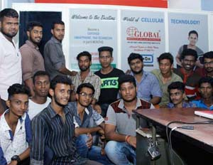 mobile phone servicing course kerala
